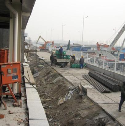 VRA防腐涂料污水处理厂基层混凝土表面处理方法